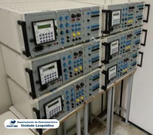 Fotografia do Laboratório de Automação Industrial  6-210A
