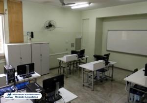 Fotografia do Laboratório de Medidas e Circuitos Elétricos
